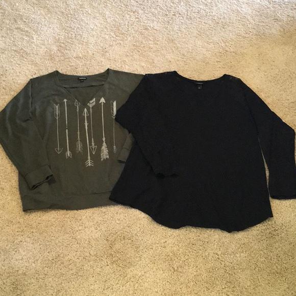Torrid Size 2 Women's Long Sleeve Bundle